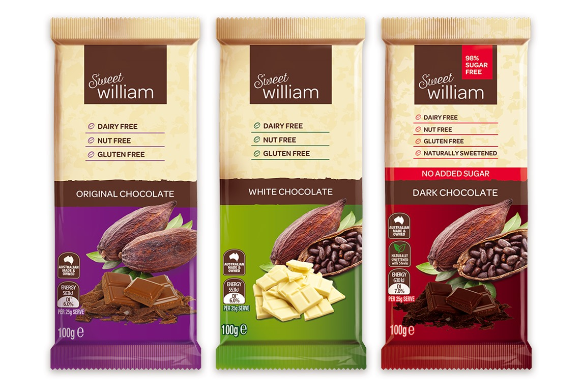 Sweet William Chocolate Bars Reviews and Info - dairy-free and allergy-friendly
