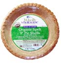 Wholly Wholesome Pie Crusts (Shells) and Pie Dough Information and Reviews - available in Organic Traditional, Organic Wheat, Organic Spelt, and Gluten-Free Varieties.