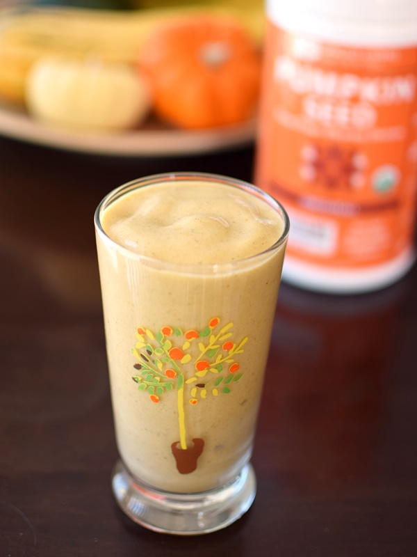 Sprout Living Pumpkin Seed Protein Powder - Organic, Raw, Dairy-Free, Gluten-Free, Vegan Smoothie