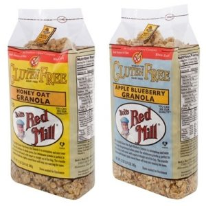 Bob's Red Mill Gluten-Free Granola - Honey Oat and Apple Blueberry (dairy-free)