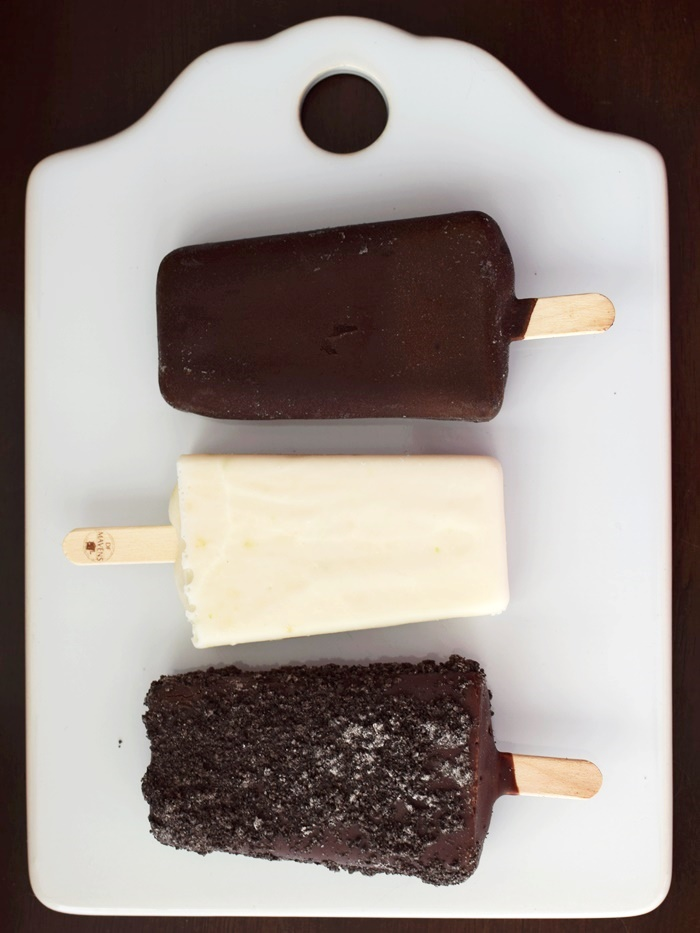 DF Mavens Dairy-Free Ice Cream Bars - decadent, creamy, vegan, gluten-free, frozen desserts in flavors like Mint Almond Cookie and Key Lime Creme
