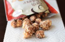 Earth Balance Popps - Peanut Butter and Tis the Season Sweet Popcorn, Nut and Oat Snacks