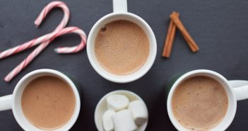 Healthy Hot Chocolate Recipe (Low-sugar, Low-fat, Dairy-free, Gluten-free) with Classic, Peppermint and Mexican Spice Options