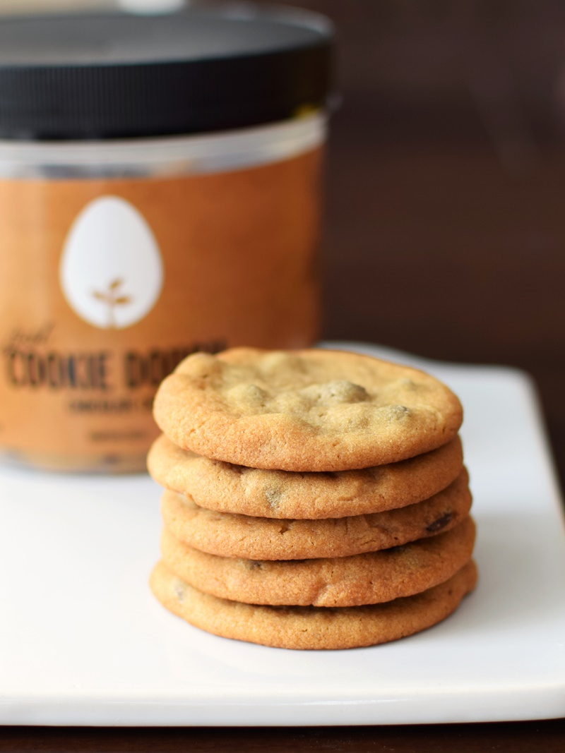 Just Cookie Dough by Hampton Creek (dairy-free, egg-free, plant-based and HUGE!)