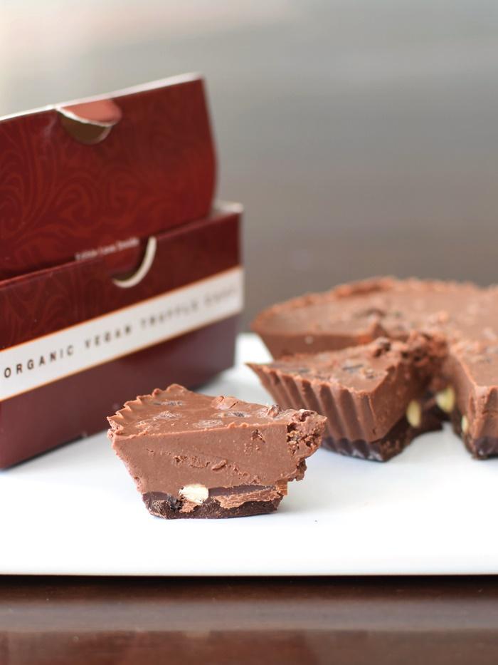 Rawmio Organic Raw Chocolate Truffle Cakes (gluten-free, vegan, paleo ...