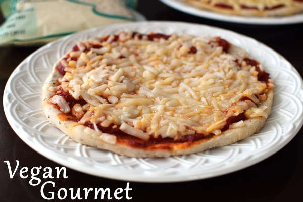 Product Comparison - Dairy-Free Soy-Free Cheese Alternatives for Pizza (Vegan, Allergen-Free Mozzarella from Follow Your Heart / Vegan Gourmet Pictured)