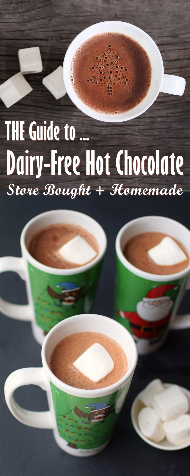 Dairy-Free Hot Chocolate Guide with Tons of Brands, Recipes & Tips