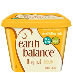 Earth Balance Buttery Spreads - All dairy-free and vegan, soy-free options (Reviews & Information). Pictured: Original