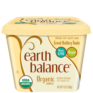Earth Balance Buttery Spreads - All dairy-free and vegan, soy-free options (Reviews & Information). Pictured: Whipped
