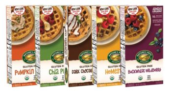 Nature's Path Gluten-Free Waffles Reviews and Info - all dairy-free and vegan