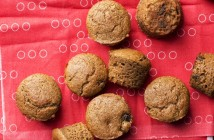 Cappuccino Chocolate Chip Mini Muffins Recipe - Vegan, dairy-free, optionally low sugar