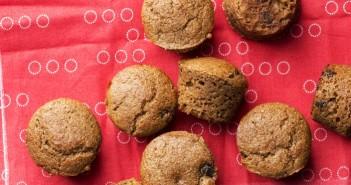 Cappuccino Chocolate Chip Mini Muffins Recipe - Vegan, dairy-free, optionally low sugar