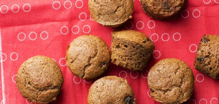 Cappuccino Chocolate Chip Mini Muffins