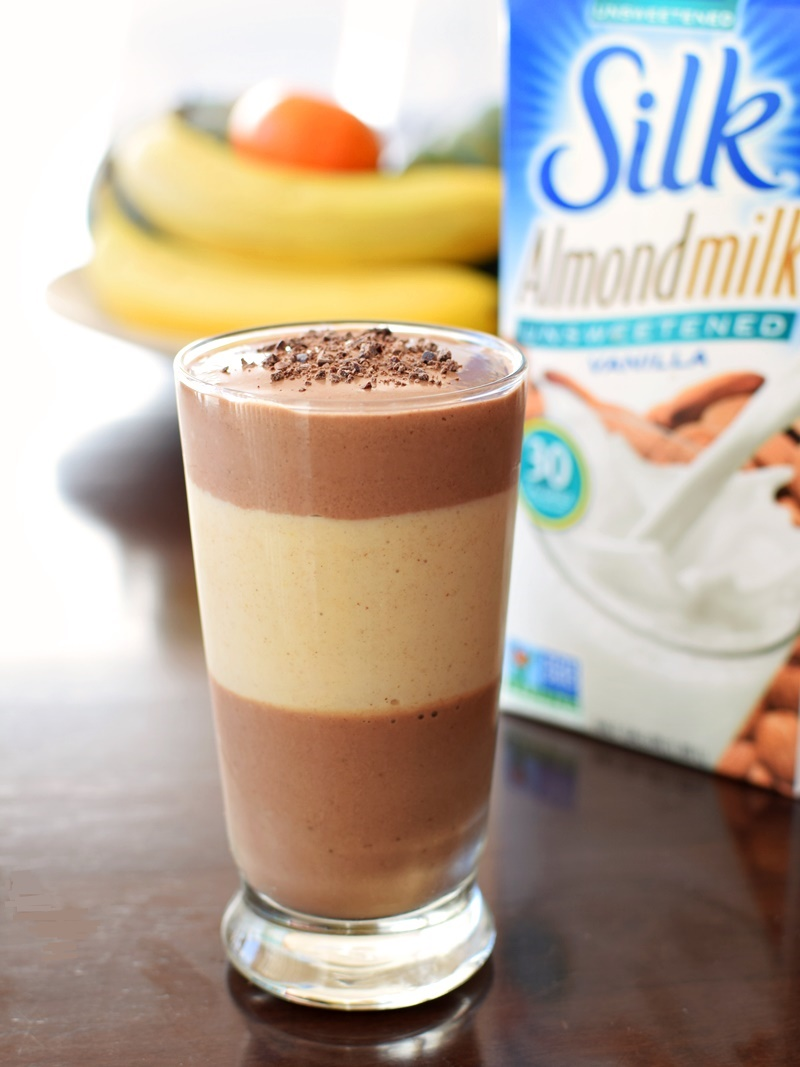15 Dairy-Free Mother's Day Recipes That Will Make Breakfast Special (Chocolate Almond Butter Cup Shake - Amazingly Delicious Dairy-Free, Soy-Free, Vegan, Low Sugar and Healthy Recipe!)