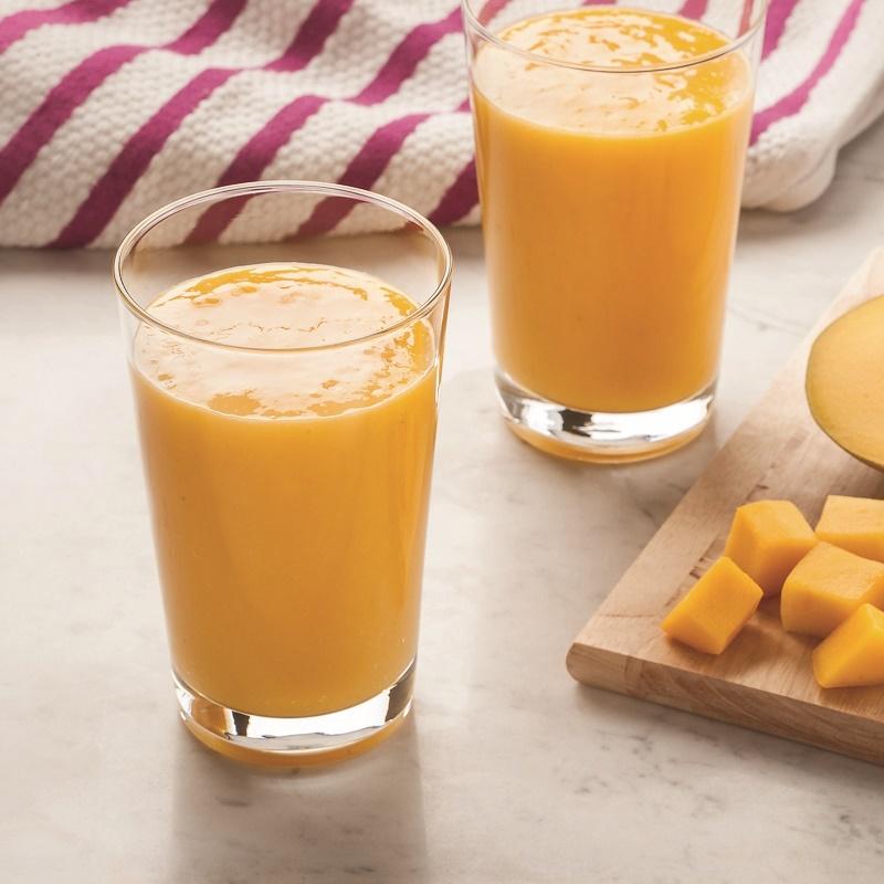 Coconut Mango Smoothie - Dairy-Free, Gluten-Free, Paleo and Vegan