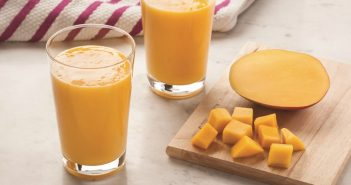 Coconut Mango Smoothie - Dairy-Free, Gluten-Free, Paleo and Vegan