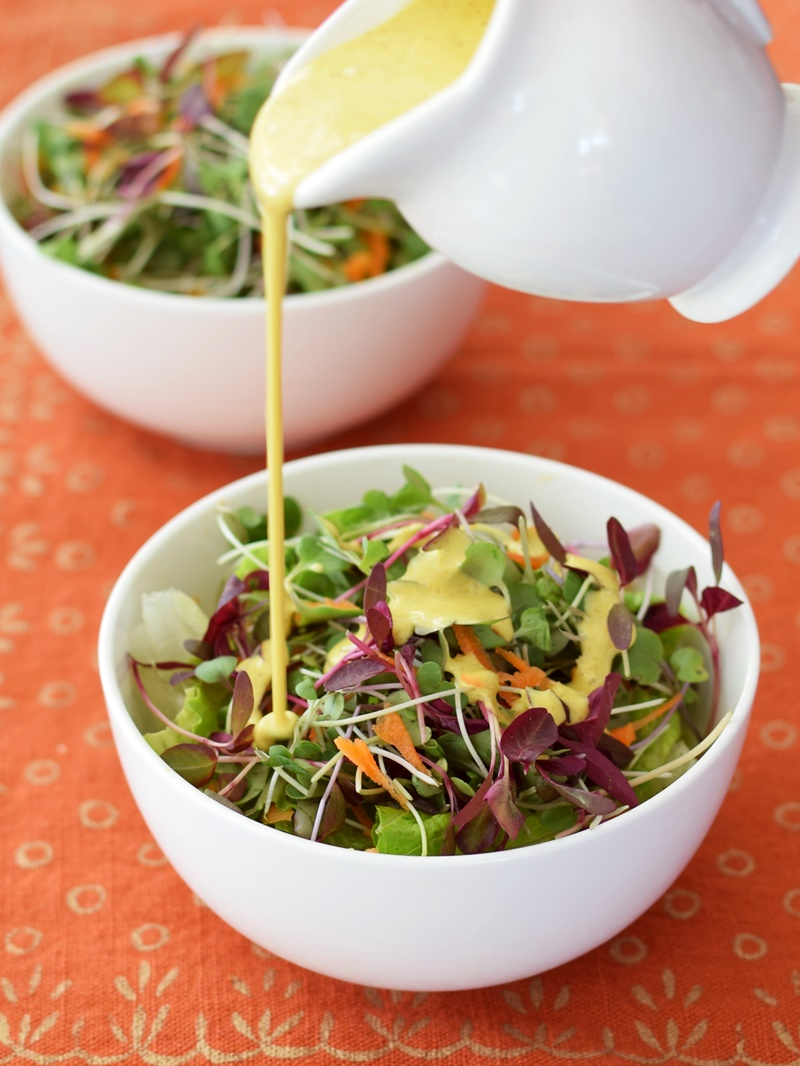 Creamy Anti Inflammatory Salad Dressing Or Sauce