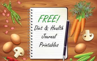 FREE Diet & Health Journal Printable - 2 full weeks with easy, detailed symptom tracking!
