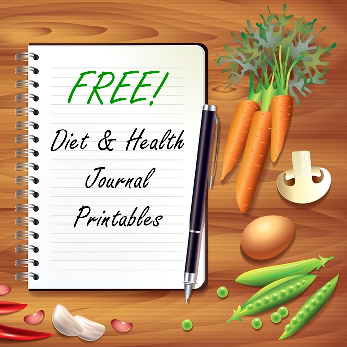 FREE Diet and Health Journal Printable - 2 full weeks with easy, detailed symptom tracking!
