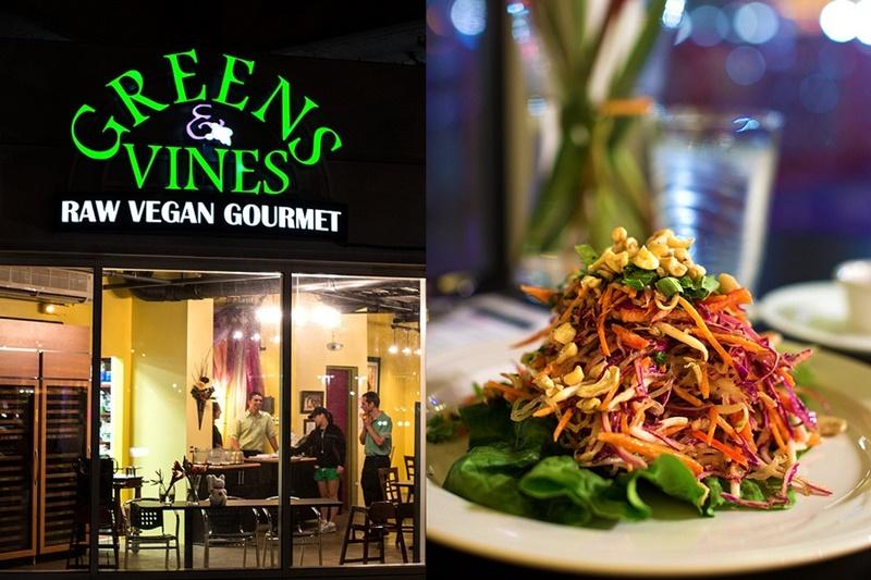 Greens and Vines Raw Vegan Gourmet in Honolulu on Oahu