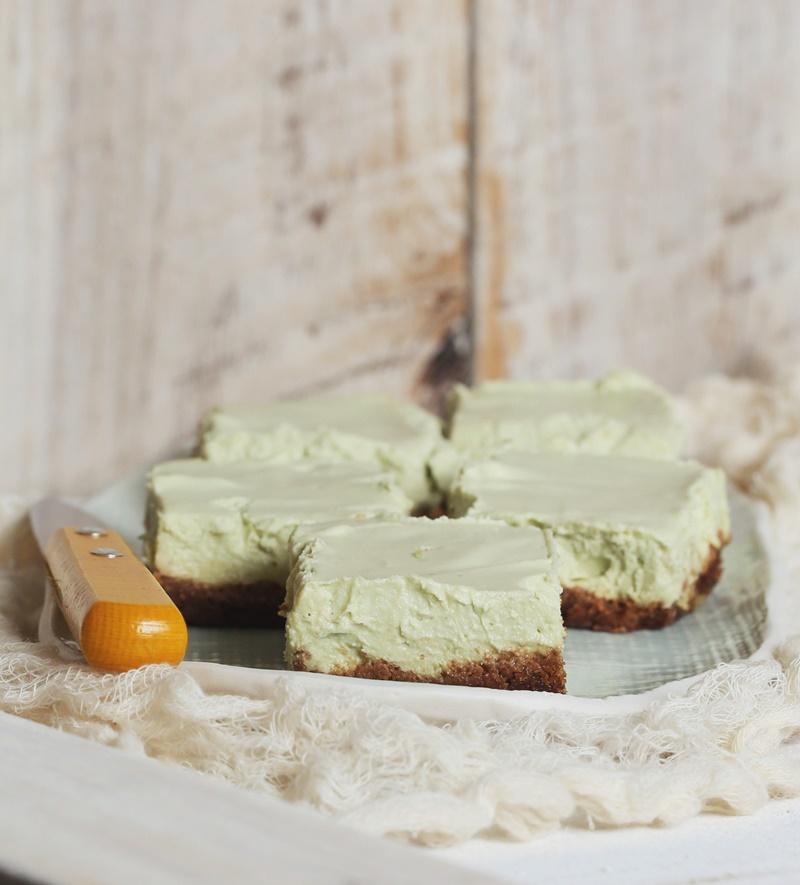 Key Lime Cheesecake Bars - Dairy-Free, optionally Vegan and Gluten ...