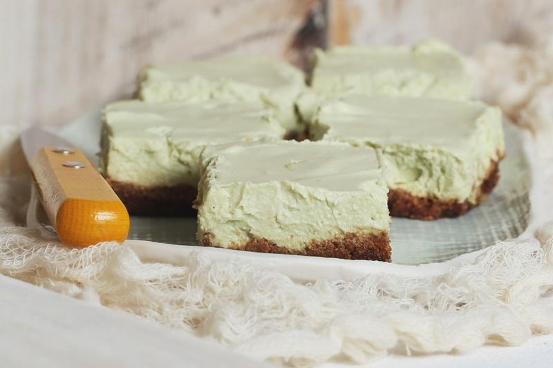 Dairy-Free Key Lime Cheesecake Bars Recipe