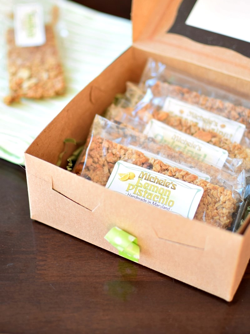 Michele's Granola Bars - Small Batch, Simply Delicious, Handmade in Maryland (dairy-free, vegan, crunchy oats)