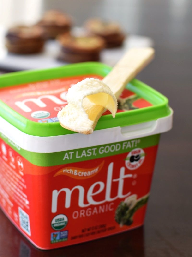 New MELT Organic Original Rich & Creamy Buttery Spread - now dairy-free + vegan!