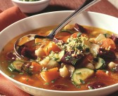 Rustic Vegetable Soup with Gremolata