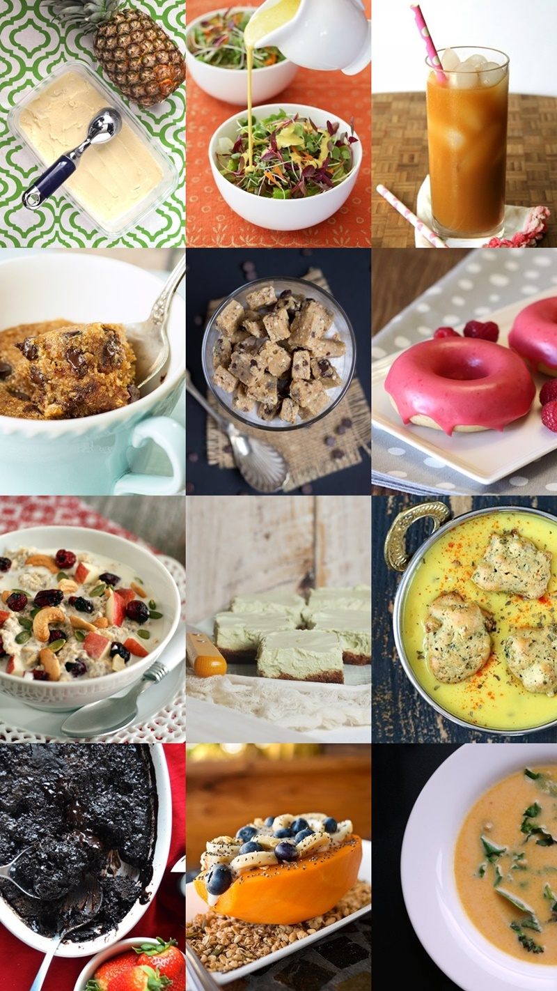 12 Top Dairy-Free Recipes for Healthier Indulgence - This Virtual Dairy-Free Potluck of Recipes includes New Creations that are Creamy, Sweet and/or Comfort-Oriented from Top Recipe Creators and Cookbook Authors. All vegan-friendly and gluten-free, too!