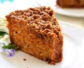 Richly Satisfying Carrot Crumb Cake