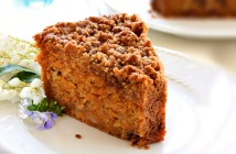Carrot Crumb Cake - Delicious vegan and dairy-free dessert