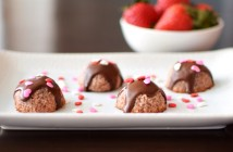 Chocolate-Covered Strawberry Macaroons Recipe - Decadent, delicious, and amazingly healthy - with Paleo, Vegan and No-Bake Options