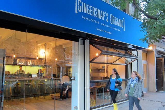 Gingersnap's Organic - Vegan Cafe and Specialty Cleanses in New York City
