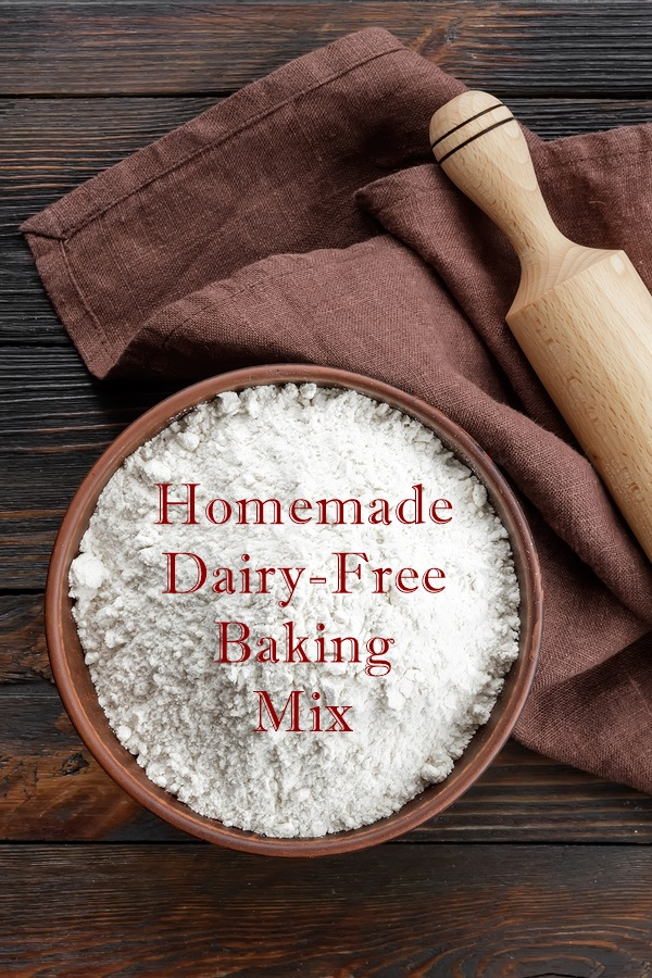 Homemade Dairy-Free Baking Mix - naturally vegan and convenient!