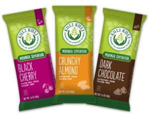 Kuli Kuli Moringa Superfood Bars - Naturally Vegan, Gluten-Free and Rich in Dairy-Free Calcium and Iron
