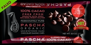 Make Paleo Chocolate Cups w/ Pascha Organic 100% Cacao Chocolate Chips