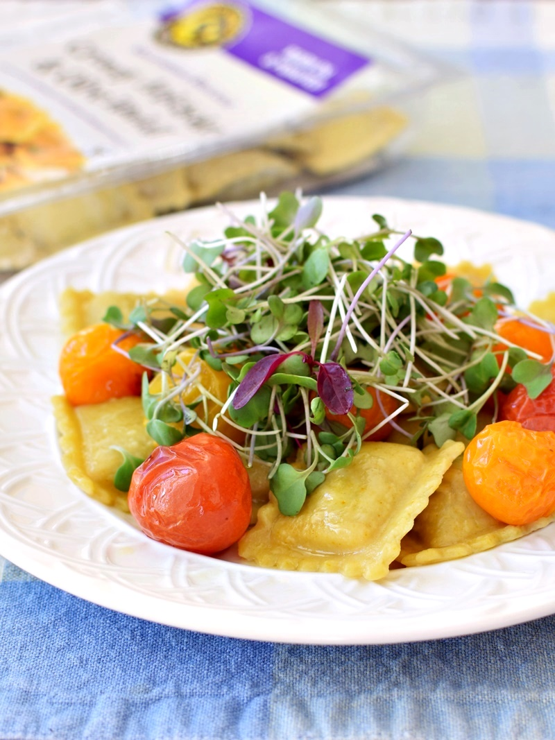 Rising Moon Organics Vegan Frozen Ravioli (and Gnocchi) - Multiple Dairy-Free Options