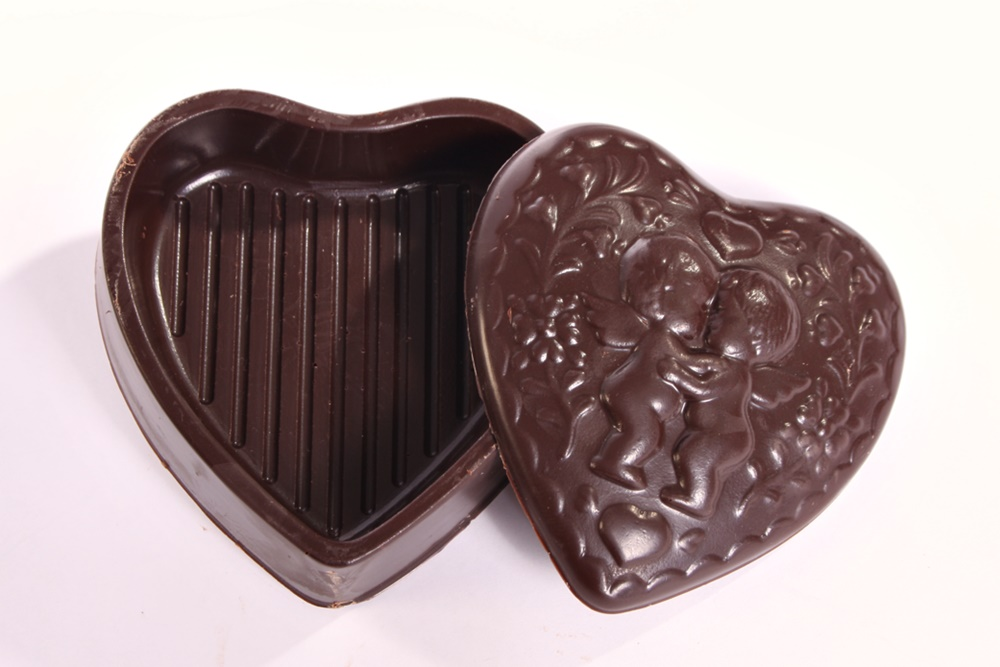 Guide to the Best Dairy-Free Valentine Chocolate: Over 20 Chocolatiers with Vegan, Gluten-Free, Food Allergy-Friendly, Organic, Fair Trade and more! Pictured: Chocolate Decadence