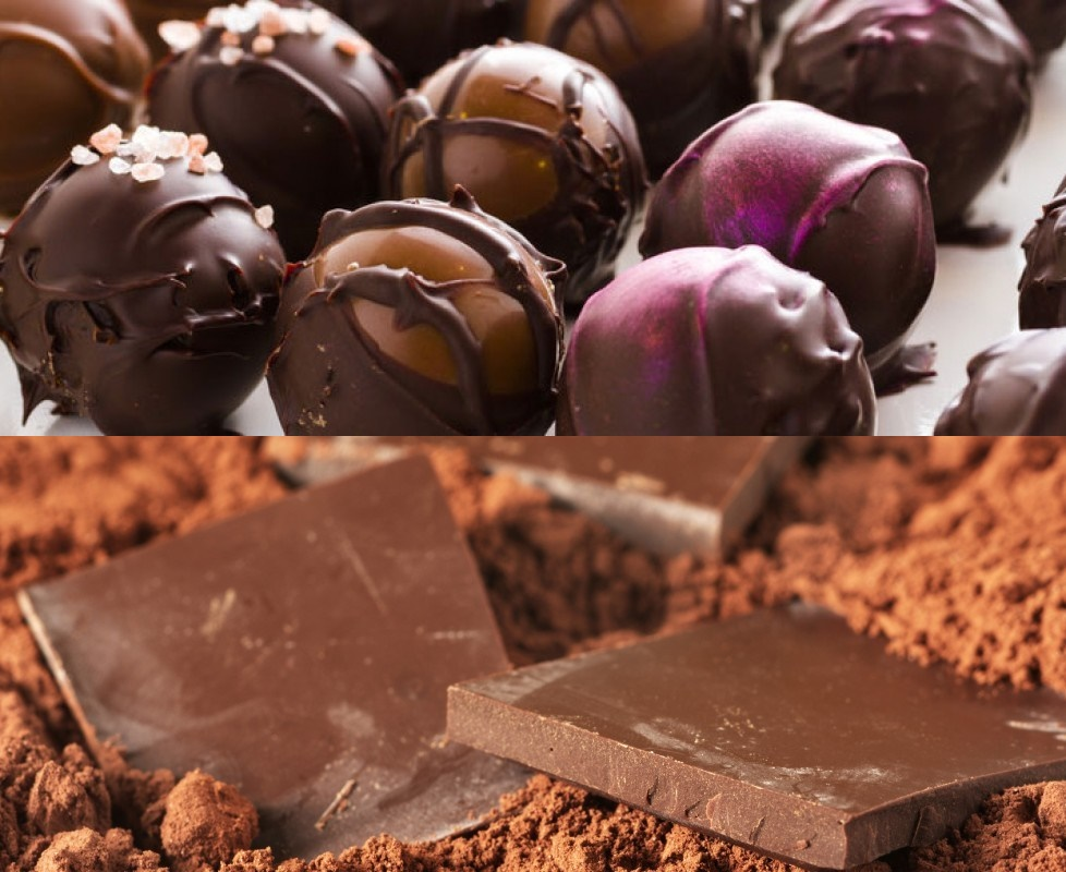 Guide to the Best Dairy-Free Valentine Chocolate: Over 20 Chocolatiers with Vegan, Gluten-Free, Food Allergy-Friendly, Organic, Fair Trade and more! Pictured: Malcolm's Dairy Free Gourmet Truffles and Fudge