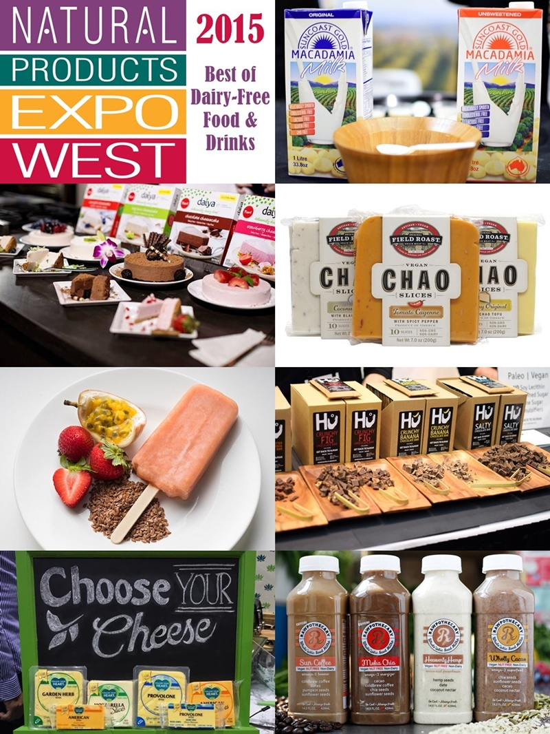 23 Top Dairy-Free Expo West 2015 Food Finds