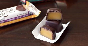 Chocolate-Covered Cocomels Coconut Milk Caramels - Dairy-free, gluten-free, and vegan chewy caramels with a semi-sweet chocolate robe (Sea Salt, Vanilla and Espresso Flavors)