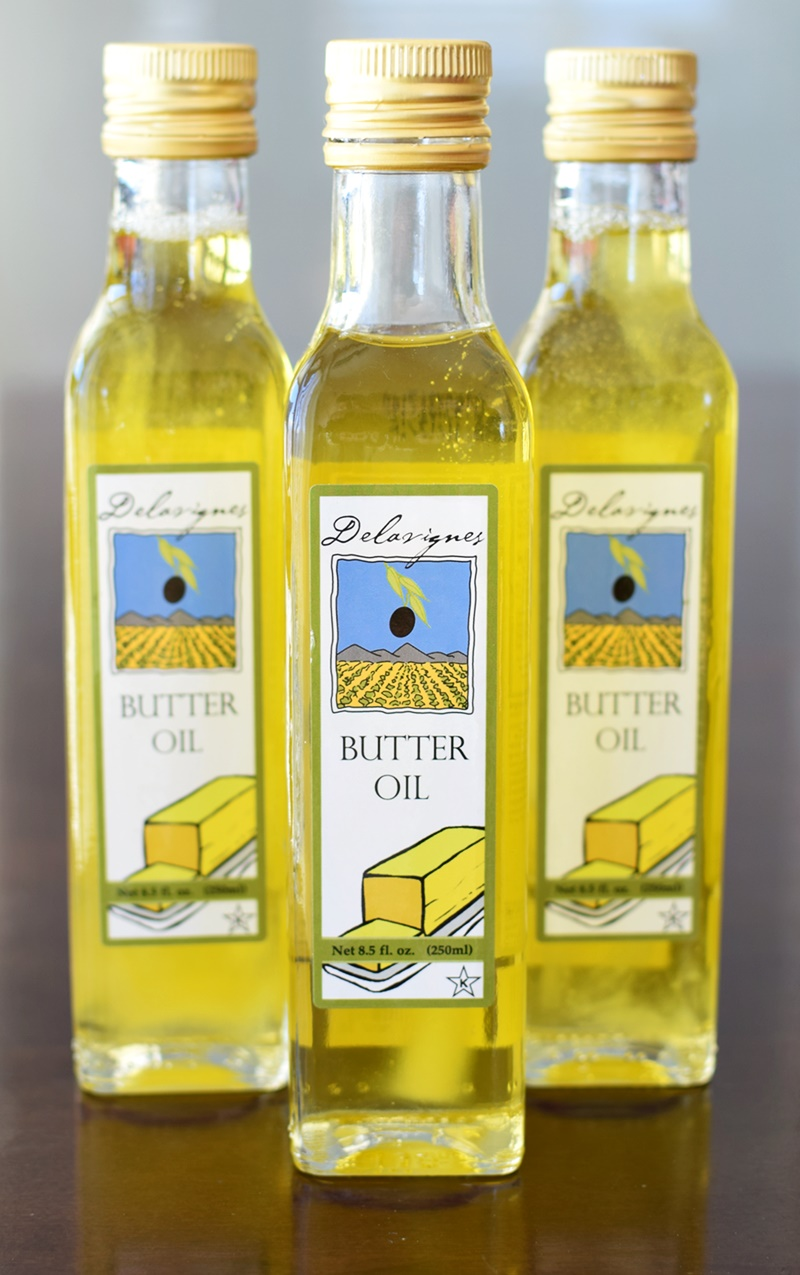 Delavignes Dairy-Free Butter Oil - naturally vegan blend of olive oil and butter essence (Review)