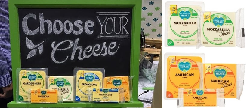 Top Dairy-Free Expo West 2015 Food Finds - Follow Your Heart New Vegan Cheese Slices