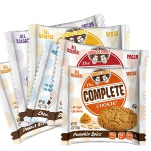 Lenny & Larry's The Complete Cookie - 7 Vegan, Dairy-Free Flavors (including White Chocolate Macadamia, Chocolate Chip, Peanut Butter, and Pumpkin Spice)