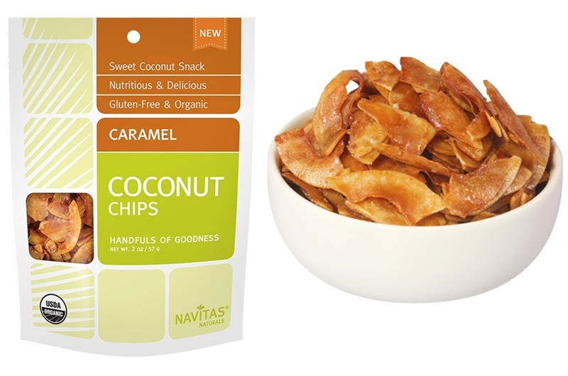 Top Dairy-Free Expo West 2015 Food Finds - Navitas Naturals Caramel Coconut Chips