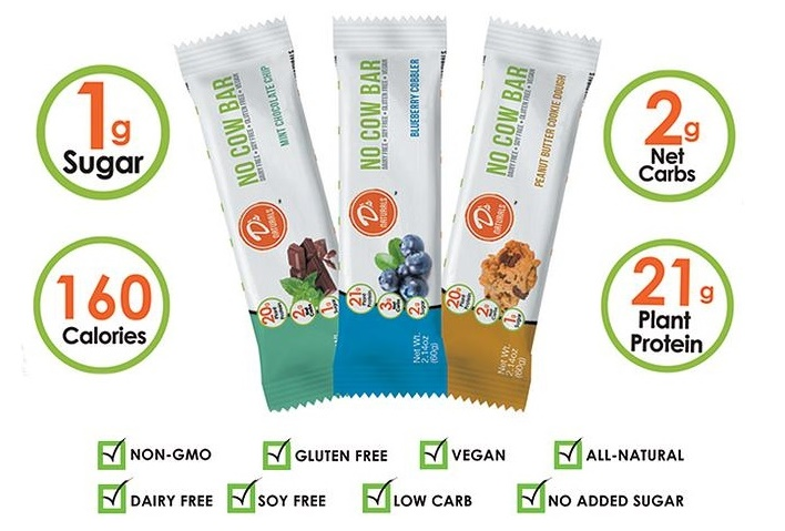 Top Dairy-Free Expo West 2015 Food Finds - No Cow Bars