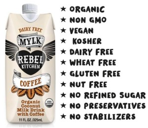 Rebel Kitchen Dairy-Free Coconut Mylk Drink - Just 4 ingredients! Soy-free, Vegan and Paleo, too