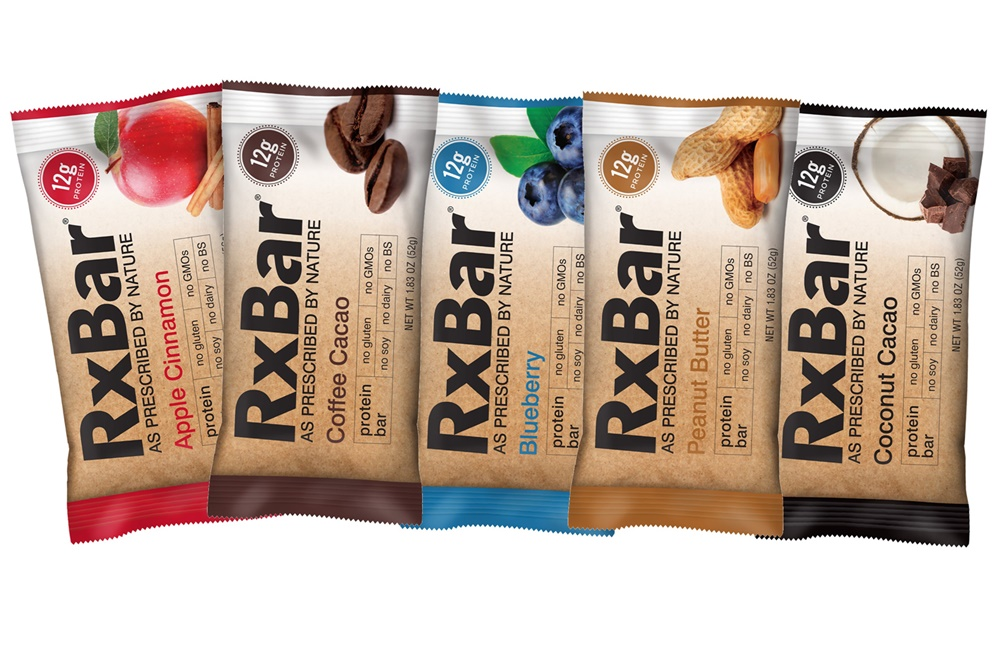RxBar Protein Bars - 5 Dairy-Free, Gluten-Free Flavors (all Paleo, too, except Peanut Butter)