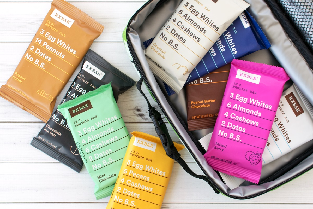 RxBar Protein Bars (Full Review) - dairy-free, paleo, high protein